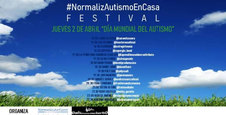 NormalizAutismoEnCasaFestival_CartelApaisado